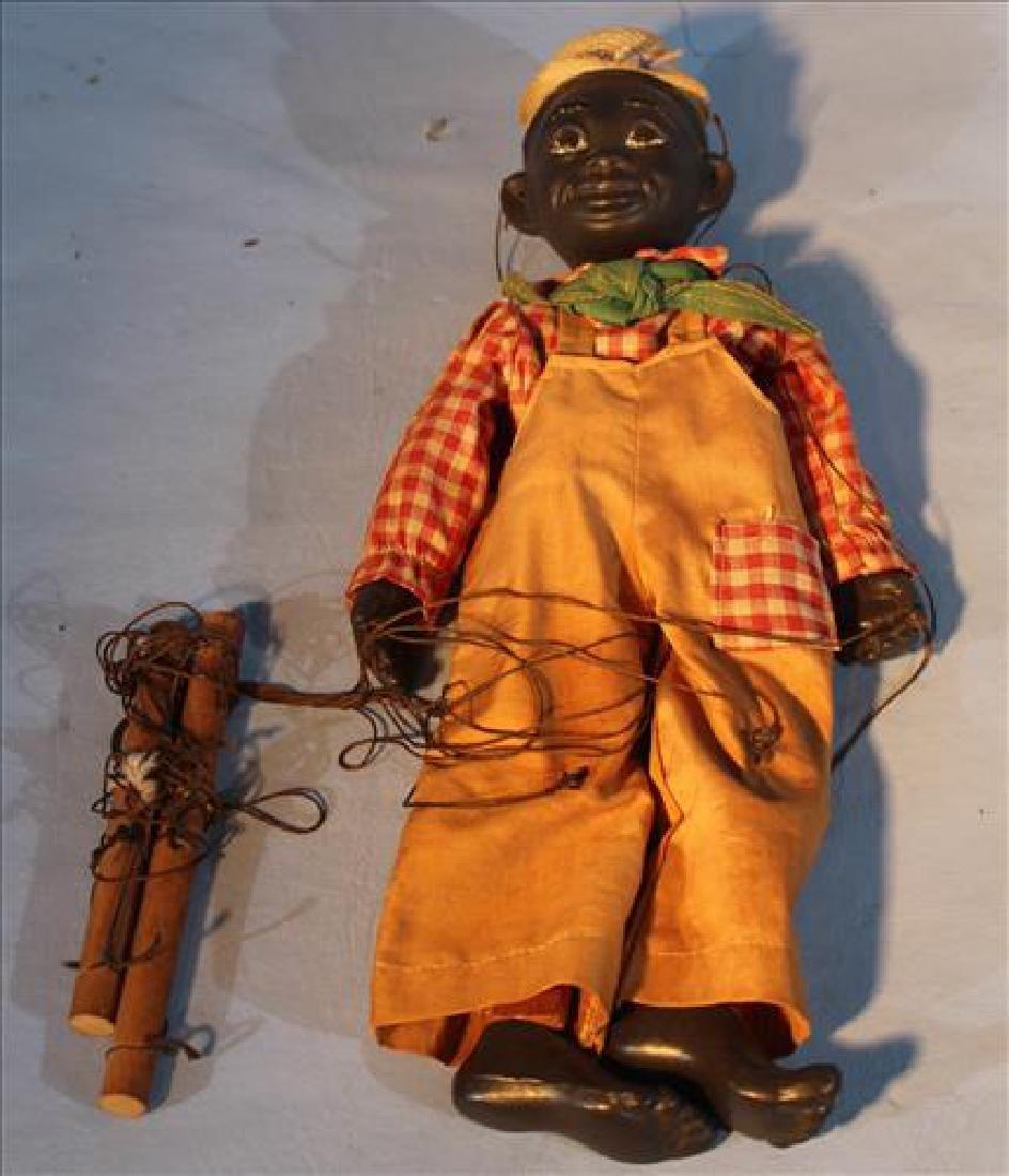 Black puppet, Lucifer V. Austin