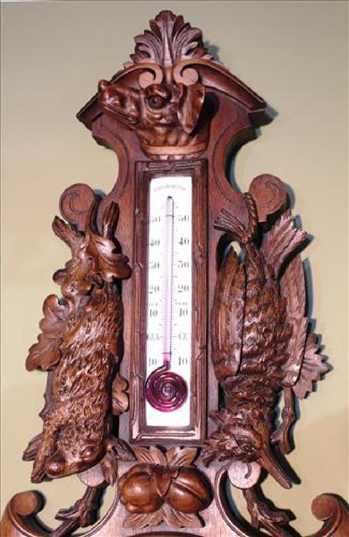 Victorian black forrest thermometer - 2