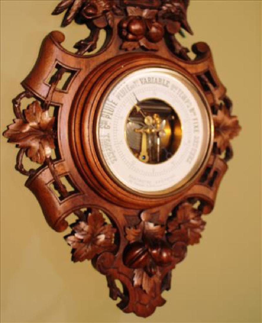 Victorian black forrest thermometer - 3