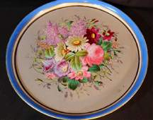 Old Paris porcelain serving tray