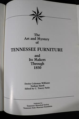 The Art and Mystery of Tennessee Furniture - 5