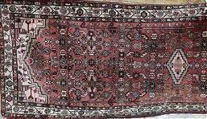 Semi Antique Persian Malayer rug, 3.2 x 9.7