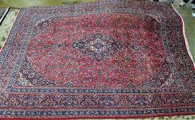 Semi Antique Persian Kashan rug 96 x 126
