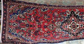Semi Antique Persian Lilihan rug 31 x 910