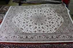 Fine Tabriz with silk, 10 x 14
