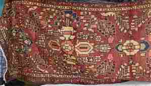 Semi Antique Persian Malayer rug, 3 x 10