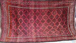 Semi Antique Persian rug 410 x 8