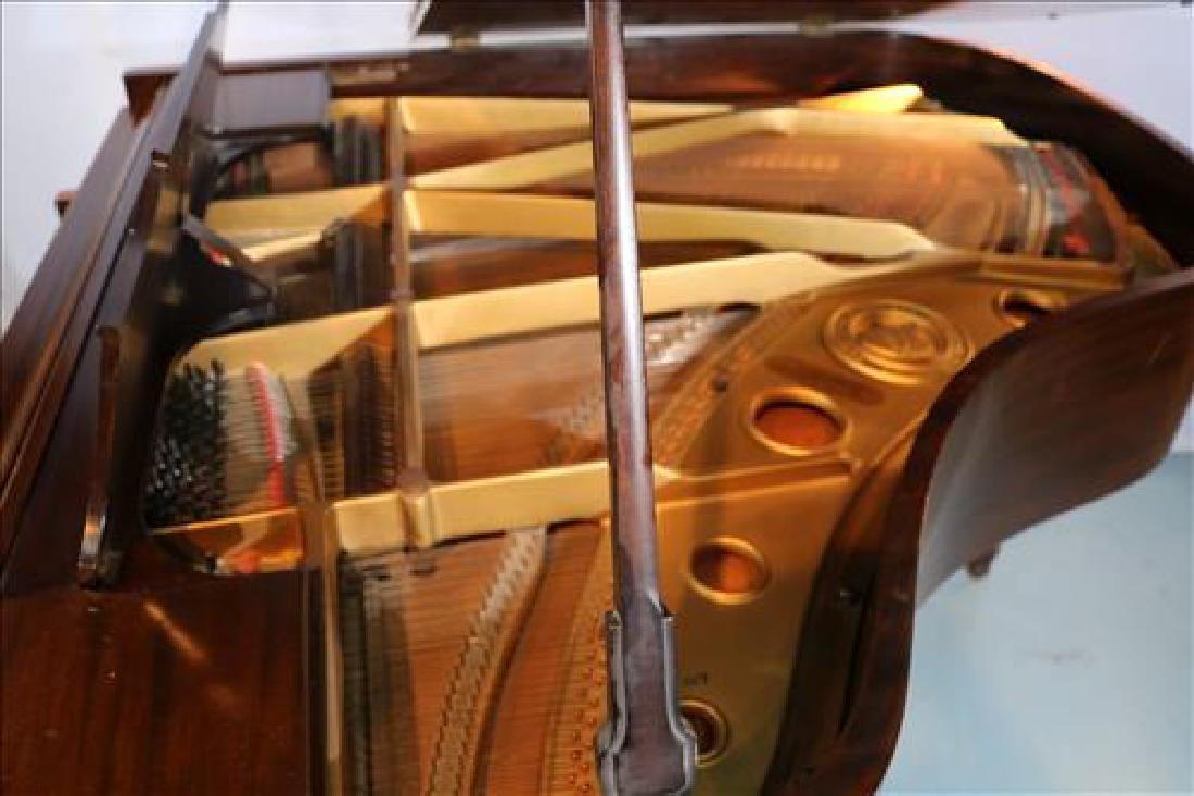 Mahogany parlor grand piano by William Knabe Co. - 3