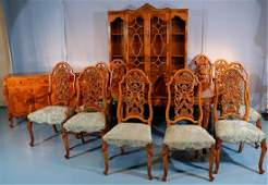 13 piece Romweber dining room suite with leaves