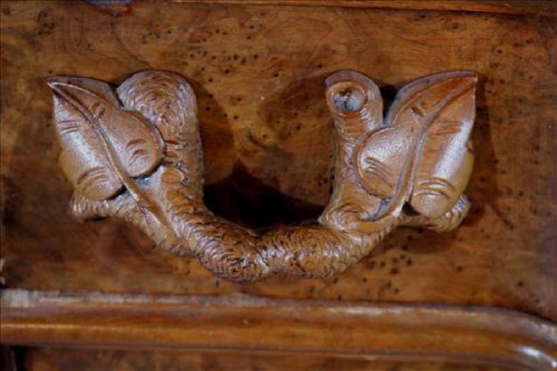 Mitchell and Rammelsberg burl walnut dresser - 6