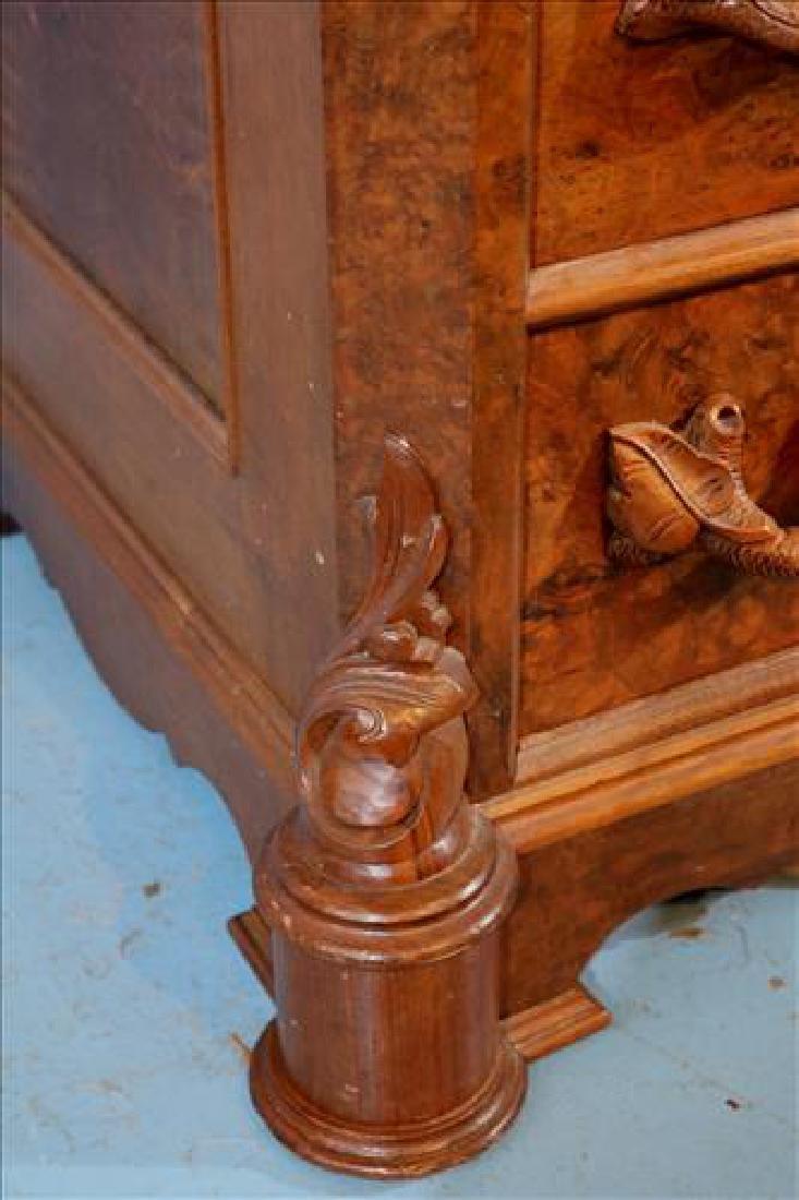 Mitchell and Rammelsberg burl walnut dresser - 9