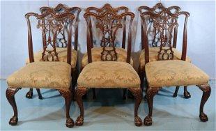 020030 Finch Fine Furniture Co Mahogany Dining Set Feb