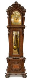 Walter H. Durfee's most magnificent grandfather clock