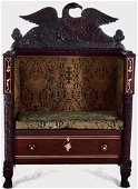 Empire Exhibition Mahogany Hall Bench