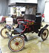 1950 replica of 1903 Oldsmobile horseless carriage