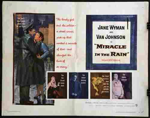 """Miracle in the Rain"", 22 x 28, year - 1956"