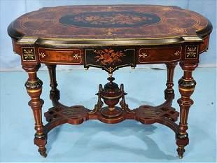 Renaissance revival center table