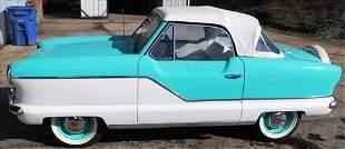 1962 Metropolitan convertible, inside kept