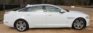 Jaguar XJL 4 door, 2014's biggest cat for options