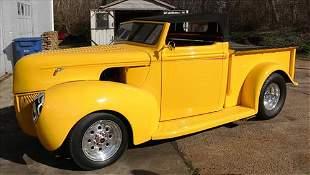 Street rod 1941 Ford pickup, runs strong