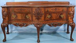 Fantastic mahogany Chippendale sideboard
