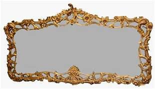 Contemporary ornate over mantle mirror,70 x 40