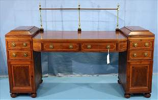 Period mahogany Sheraton sideboard