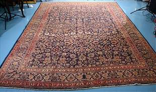 Large hand made Persian rug, 10 x 12