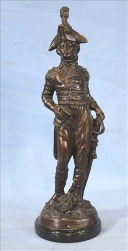 Bronze statue of George Washington
