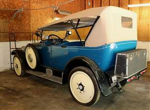 1924 Nash Super 6 touring car, found in barn