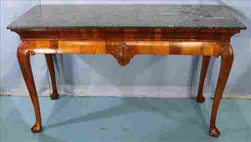 Irish Mahogany Chippendale console table