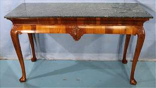 Irish Mahogany Chippendale console table