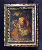 "35: Unknown Artist (17th C. Italian School) "" Socrates"""
