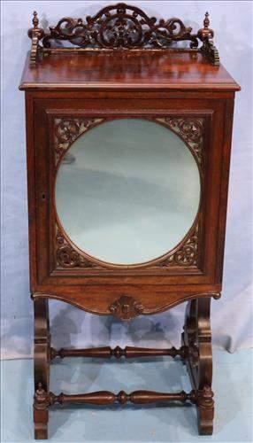 Brizilian Rosewood Victorian sheet music cabinet