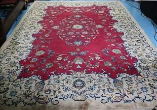 Antique Persian rug, multicolor, 13.6 x 9.6