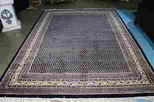 Large Persian hand made rug, 11.10 x 8.3