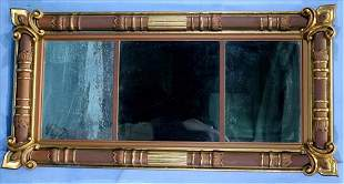 Period federal over the mantle mirror, 50 x 26