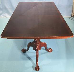 Contemporary Chippendale dining table