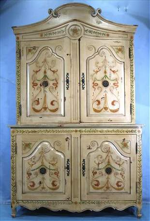 Entertainment center, Dutch painted all over