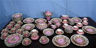 Beautiful 108 piece set of Carlsbad China
