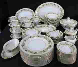90 piece set of Noritake china