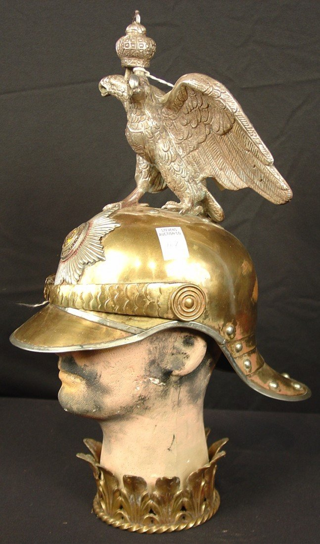 112: Military Imperial Russian Helmet of the 19th Centu
