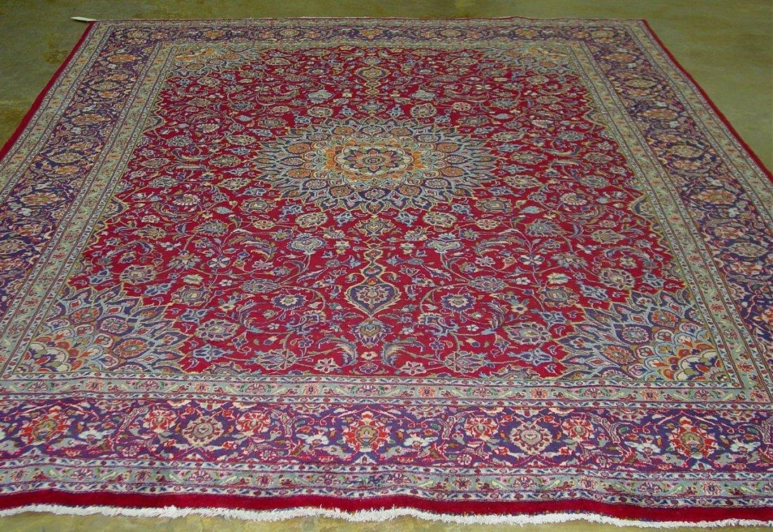 8: Hand made Persian rug made in iran, burgandy,
