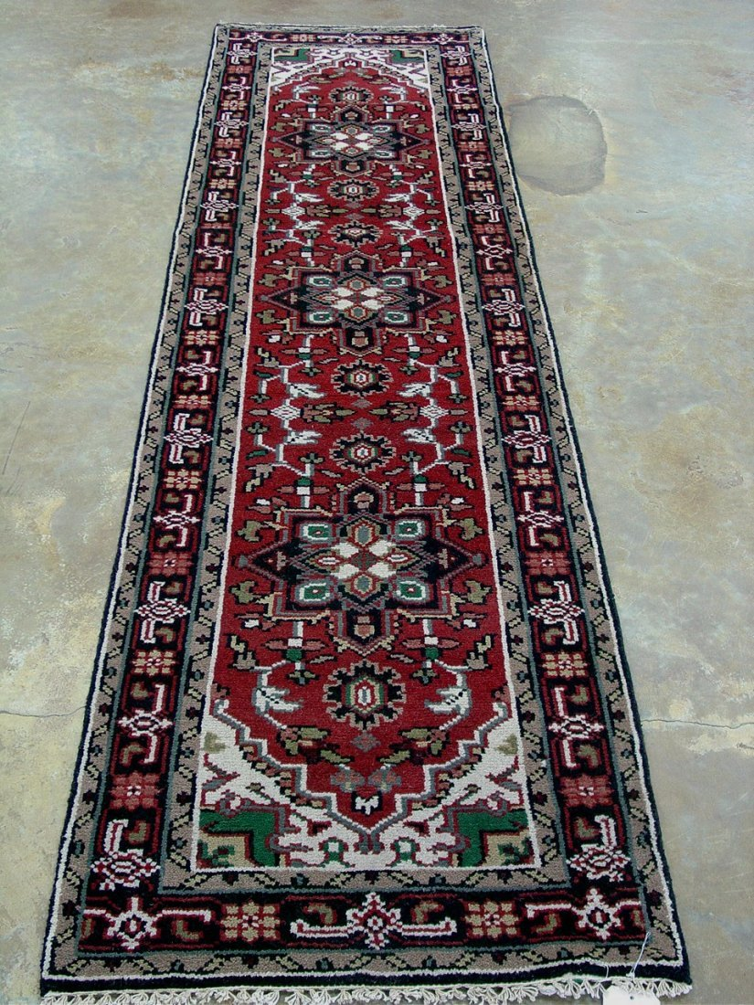 20: Kilim Hand Made antique Persian  runner, 2ft 9in x