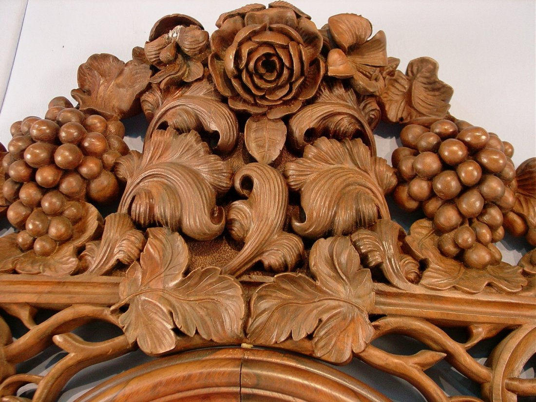 104: Rosewood etagere by J. H. Belter, Rosalie pattern, - 6