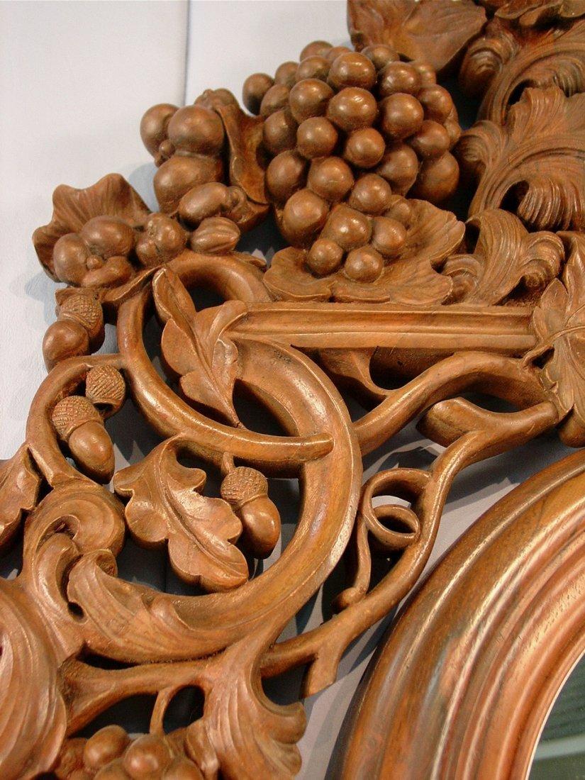 104: Rosewood etagere by J. H. Belter, Rosalie pattern, - 7