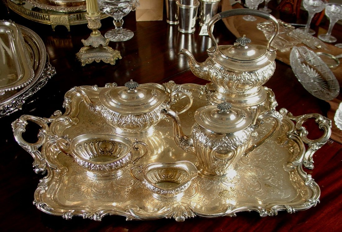 6 piece Victorian Tea Service set from Gray Gables,