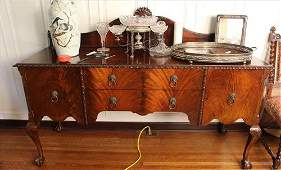 Mahogany Chippendale sideboard
