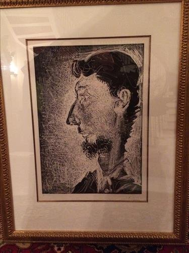 Portrait of Pierre Crommelynch, by Picasso