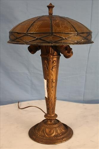 Art Nouveau radial lamp, by Radio Lamp Co, NYC